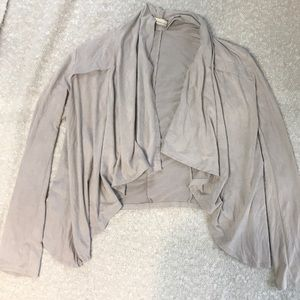 Forever 21 Faux Suede Cardigan
